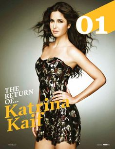 Katrina Kaif's FHM Magazine India July 2012 Pictures. | Bollywood Cleavage