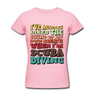 T-Shirts ~ Women's T-Shirt by American Apparel ~ The Sound of my Breath