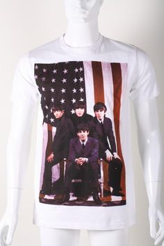 Men | Print Tee Shirts | Music/ Entertainment | 'The American Band Ever' Slim-Fit Crew Neck Tee | Indie Clothes & Accessories