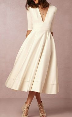86402a8fb558 504 Best Fit and Flare Dress images | Midi dresses, Flare Dress ...