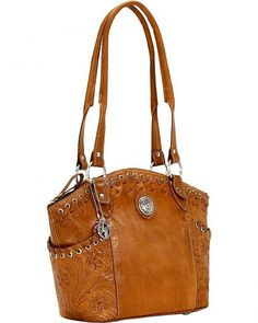 American West Harvest Moon All Access Bucket Tote