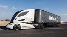 This could be the truck of the future. At least, that may be the case for Walmart's massive fleet of 6,500 tractors that help supply its stores. It's called the Walmart Advanced Vehicle Experience...