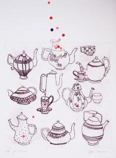 Sophie MORILLE Artiste plasticienne/ Designer textile.: dessins