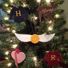 Potter Frenchy Party - Une fête chez Harry Potter: Un Noël Harry Potter : décorations DIY pour le sapin des sorciers