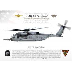"CH-53E ""Super Stallion"" HMH-466 ""Wolfpack"" JP-1882"