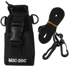 Tenq® 3in1 Multi-function Universal Pouch Bag Holster Case for GPS Pmr446 Motorola Kenwood Midland Icom Yaesu Two Way Radio Transceiver Walkie Talkie Ms-20c ** Click on the image for additional details.