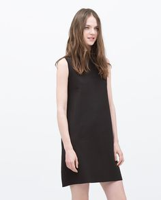 Image 1 of HIGH COLLAR DRESS from Zara