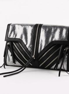Billie Jean Metal Mesh Clutch