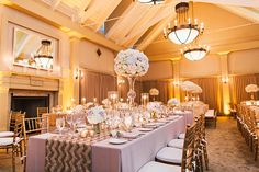 La Tavola Fine Linen Rental: Nuovo Champagne with Sequin Chevron Nude and Taupe Table Runner and Nuovo Champagne Napkins   Photography: Perry Vaile, Wedding Planner: Ashley Rhodes of The Inn at Palmetto Bluff, A Montage Resort, Floral Design: EM Creative Floral