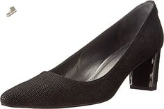 Stuart Weitzman Women's Logofirstclass Black Goose Bump Nappa Pump 9.5 W - Stuart weitzman pumps for women (*Amazon Partner-Link)