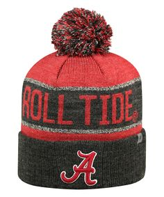 a944b1a6994 Top of the World Alabama Crimson Tide Pom-Pom Beanie - Adult