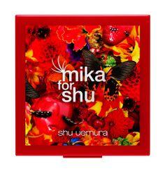 """mika for shu in beauty wonderland"" shu uemura team-up with Japanese photographer Mika Ninagawa"