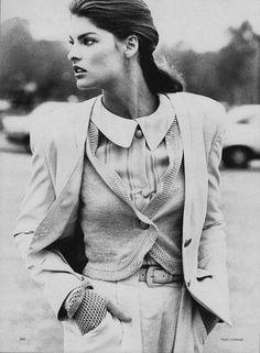 Linda Evangelista by Peter Lindbergh.