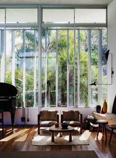 oscar niemeyer's LA home
