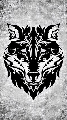 Tribal Wolf Tattoo, Tribal Sleeve Tattoos, Wolf Tattoo Design, Wolf Tattoos, Tribal Lion, Animal Tattoos, Tattoo Designs, Lobo Tribal, Beast Logo