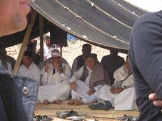 Libyan Berber (Amazigh) men at the Nalut Spring Festival 2008