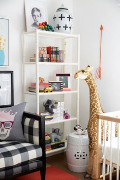 Take a Tour of Model Coco Rocha's Glam Nursery via Brit + Co.