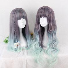 "Harajuku lolita gradient wigs   Coupon code ""cutekawaii"" for 10% off"