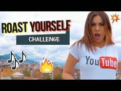 ROAST YOURSELF CHALLENGE - La Mafe Mendez - YouTube Challenge S, Cameron Boyce, Songs, Videos, Roasts, Nutella, Banners, Angel, Disney