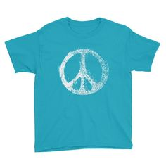 Now available in our store. Check it out here http://j-s-graphics.myshopify.com/products/peace-sign-youth-short-sleeve-t-shirt-1?utm_campaign=social_autopilot&utm_source=pin&utm_medium=pin