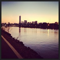 Morning on the Brisbane River