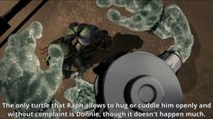 Omg see! Raph is capable of loving Even donnie