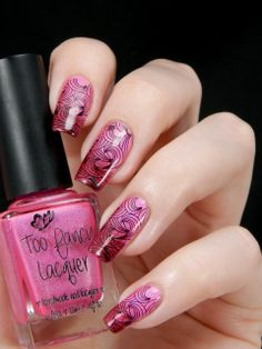 Too Fancy Lacquer This Love Is Smokin' Hot & ILNP Very Ornamental