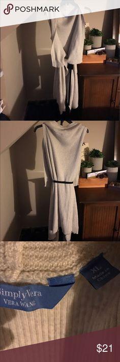 Selling this Beautiful Sleeveless Sweater on Poshmark! My username is: nettscloset17. #shopmycloset #poshmark #fashion #shopping #style #forsale #Simply Vera Vera Wang #Sweaters