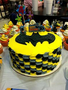 Awesome Batman cake