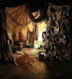 Blanket Fort Book Lights Winter