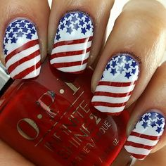 Life of a mad typer: 4th of July Nail Stamping Manicure Come by and tell us what you think.