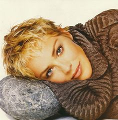 Sharon Stone with great hair