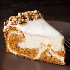 Carrot Cake Cheesecake Recipe - Cooking Classy & ZipList