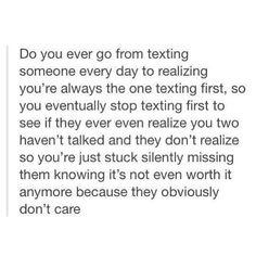 This is so true it's sad
