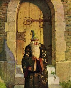 Merlin ~ N. C. Wyeth (1882-1945)