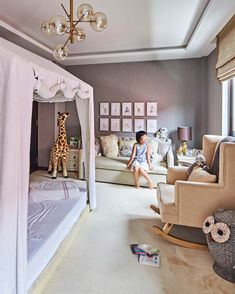 Self Design, Stylish Bedroom, House Tours, Toddler Bed, Cool Designs, Bedrooms, Colours, Contemporary, Furniture