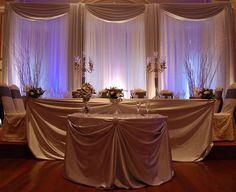 Professional Wedding Backdrop Kit w Pipe Drape Valence 3 Panel 6 Tall Wedding Reception Backdrop, Reception Decorations, Wedding Backdrops, Wedding Ideas, Wedding Draping, Wedding Receptions, Diy Wedding, Party Backdrops, Cream Wedding