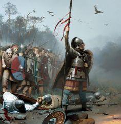 Romano-british warriors- by José Daniel Cabrera Peña
