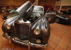 Prince Rainier of Monaco, displayed at Terrace of Fontvielle Museum in Monaco.  His son, Albert II is selling 38 of his father's 100 classic cars.