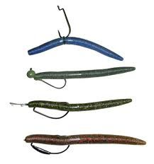 The Senko is essentially a tailless soft plastic worm, but has quickly become one of the most popular baits for a variety of species. It is very simple to use, and often the less you do the better the better the results. This is one bait that catches tons of fish for everyone from beginners to pros.