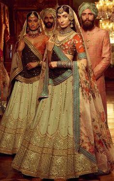Ideas For Bridal Collection Indian Lehenga Choli Designer Bridal Lehenga, Indian Bridal Lehenga, Indian Bridal Wear, Indian Wedding Outfits, Bridal Outfits, Indian Outfits, Bridal Dresses, Indian Wear, Rajasthani Lehenga