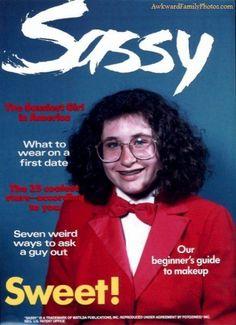 oh she's SASSY alright!!! (haha awkward photos)
