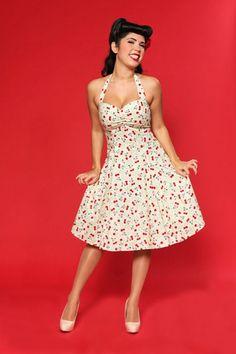 retro halter dress - Google Search