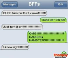 iPhone SMS Must be fun