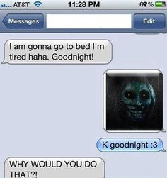 Funny text - Good night - http://www.jokideo.com/