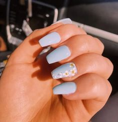 In search for some nail designs and some ideas for your nails? Here is our listing of must-try coffin acrylic nails for stylish women. Simple Acrylic Nails, Summer Acrylic Nails, Best Acrylic Nails, Pastel Nails, Simple Nails, Acrylic Nails Designs Short, Fake Nail Designs, Fake Nail Ideas, Acrylic Nail Designs For Summer
