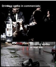 Vodka Effect In Real Life