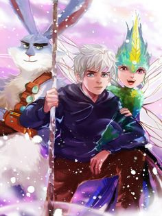 Rise of the Guardians by Athena [©2014]