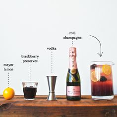 The Rose Noir: the perfect Valentine's Day cocktail