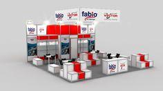 Fabio fair stand exhibition design